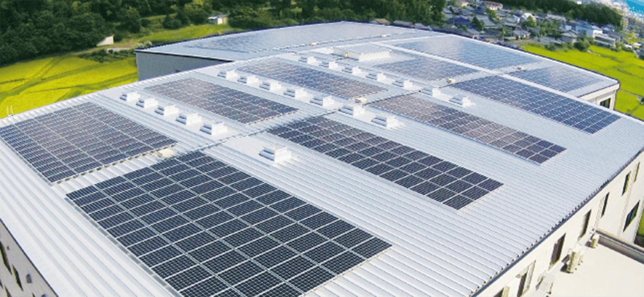太陽光発電の導入