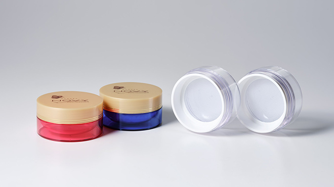 A view of multiple containers with their lids open